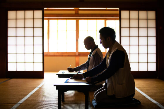 Sutra Transcription・Tracing of the Image of Buddha