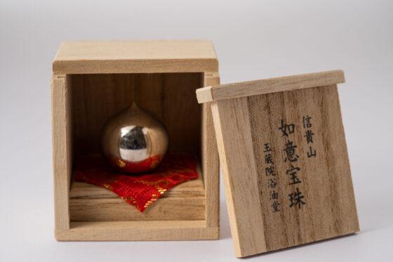 如意宝珠(金属・木箱入り)